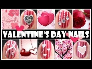 Четыре простых варианта дизайна ногтей на День Святого Валентина