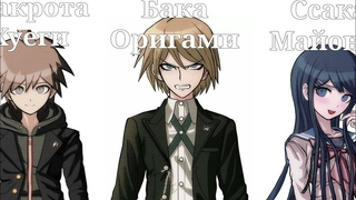 Имена персонажей Danganronpa : Trigger Happy Havoc на языке эмодзи
