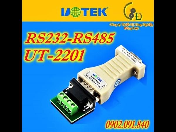 Bộ chuyển đổi tín hiệu RS232 sang RS485 module UT 2201 UOTEK chính hãng giá tốt nhất