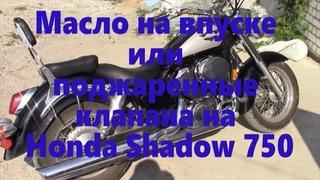 Ремонт мотоцикла HONDA Shadow 750
