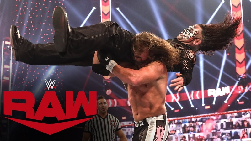 Jeff Hardy vs AJ Styles Survivor Series Qualifying Match Raw Oct 26 2020