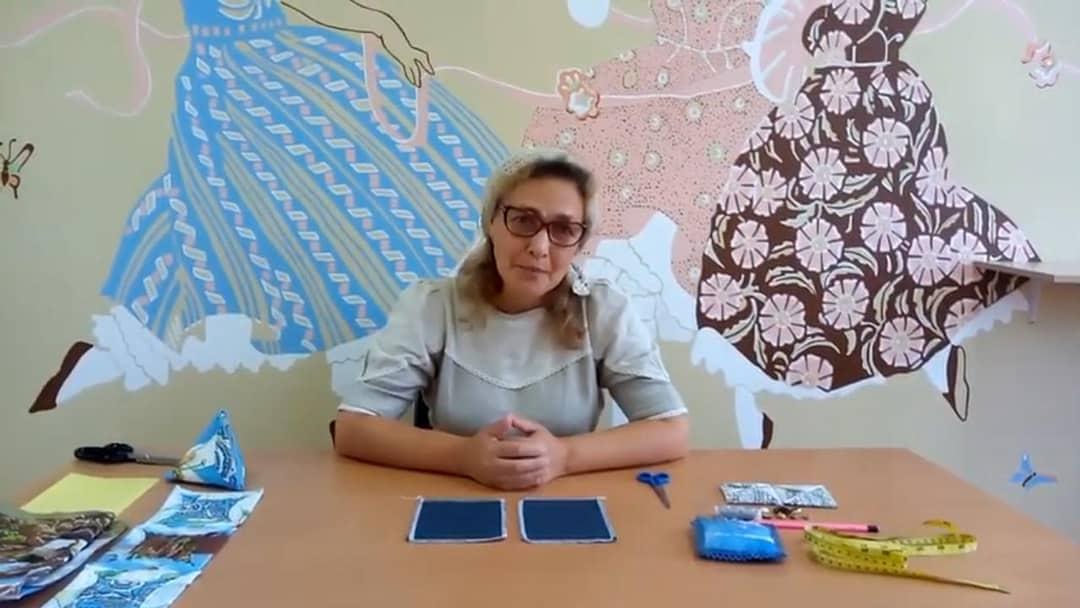Работники культуры из села Оркино публикуют мастер-классы по шитью