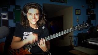 Cody Wright - Hey Jude solo bass/loop jam
