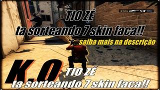 CS:GO - Pai Ta On!! Nocault SORTEIO de 7 FACAS DIA 22