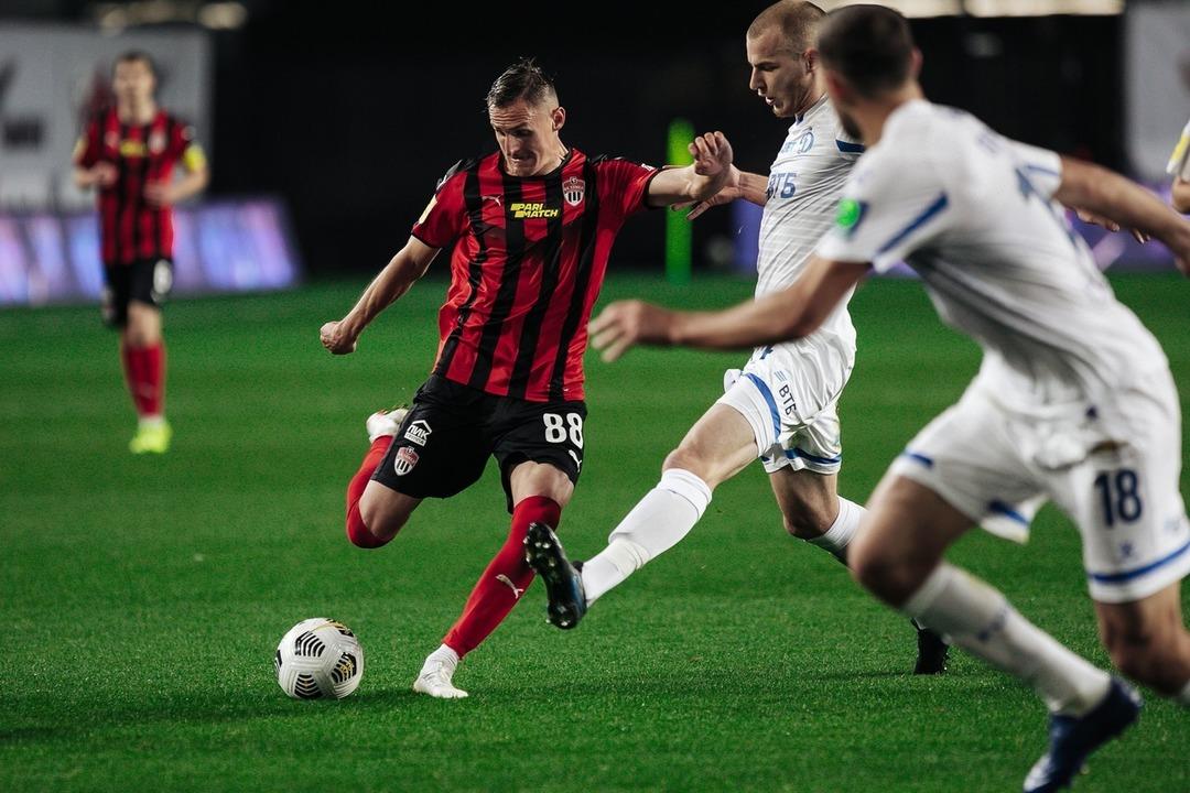 Химки - Динамо, 1:0