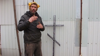Как правильно сделать крест на могилу размеры и материалы обзор