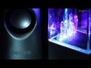 Perfeo мультимедийные колонки 2.0 (танцующие фонтанчики), USB, серебристые PF-WDS1-SV