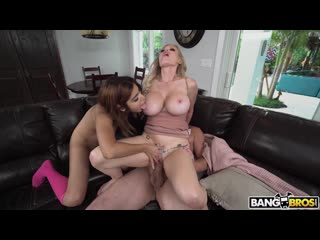 Мамочка учит дочку как правильно ублажать папочку[2020 Blowjob,Hardcore,Cumshot,Amateur Milf,Big Tits,Stepmom,Teen,Young]