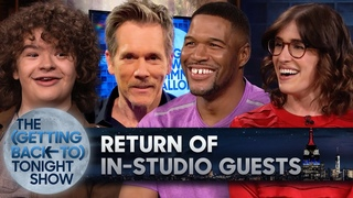 The Return of In-Studio Guests   The (Getting Back to) Tonight Show - Ep. 4