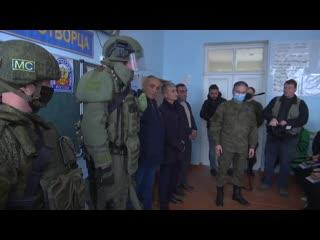Открытый урок для школьников города Чартар в Нагорном Карабахе