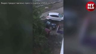 В Туле похитителя коробки мороженого поймали, когда он лакомился украденным