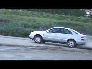 Audi A4 B5 1.8 Turbo Quattro Rallycross vid 2