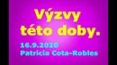Výzvy této doby 16 9 2020 Patricia Cota Robles