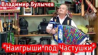 """""""Наигрыши под частушки"""" под гармонь. Исполняет Владимир Булычев."""