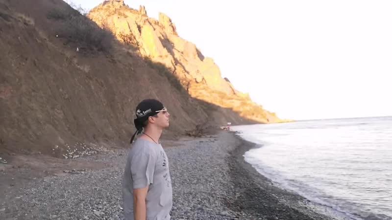 Сапфировая кисть гимнастика у горы