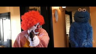 Ronald McDonald vs. Cookie Monster & Big Bird