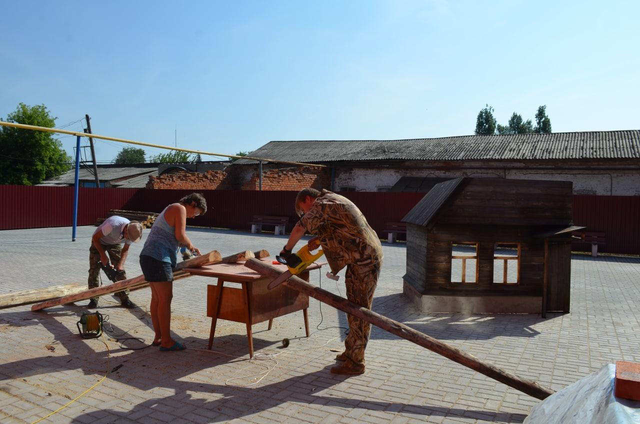 В музейном историко-краеведческом комплексе Петровска продолжаются работы по подготовке новых экспозиций