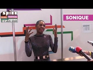 Sonique пред камерата на SPICE Music Festival 2020 / SONIQUE Interview