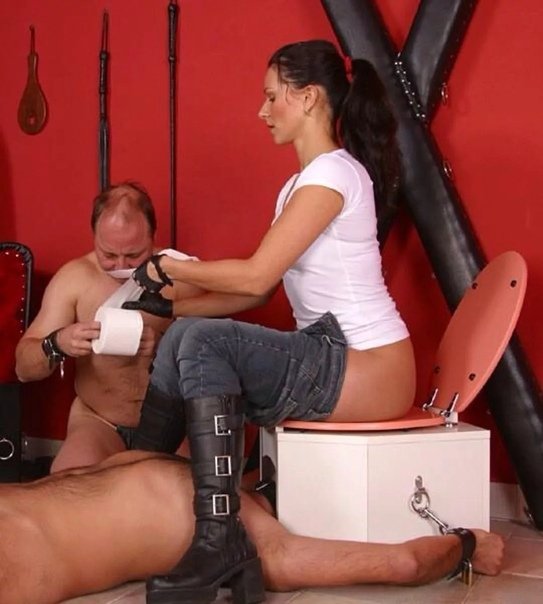 V Club Stiletto Femdom Junior's Toilet And Fart Box Mistress Kandy