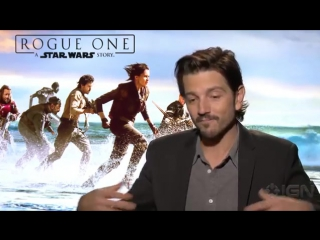 Rogue One- A Star Wars Story - Diego Luna on Captain Cassian Andor's Dangerous W