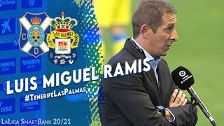CD Tenerife | Luis Miguel Ramis valora el #derbicanario