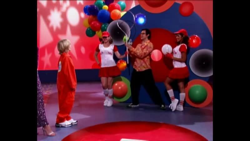 Зак и Коди в телеигре Рискни всем Всё тип топ или жизнь Зака и Коди