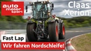 Claas Xerion 5000 Trac VC Wir fahren Nordschleife! engl subtitles Fast Lap auto motor sport