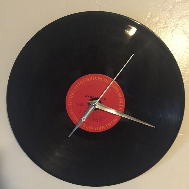 Эволюция изготовления часов и других изделий из виниловых пластинок, изображение №10