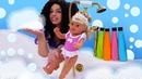 Принцессы ДИСНЕЙ в видео с куклами - Пенная ванна для БЕБИ БОН! – Новые игры одевалки для девочек