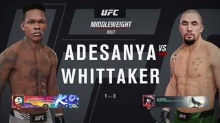 VBL 52 Middleweight Grand-Prix Robert Whittaker vs Israel Adesanya