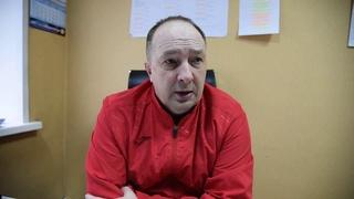 "04 12 2020 Главный тренер команды ""Саяны"" Евгений Ерахтин"