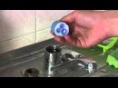 Как разобрать ремонт флажкового однорычажного смесителя с заменой картриджа своими руками