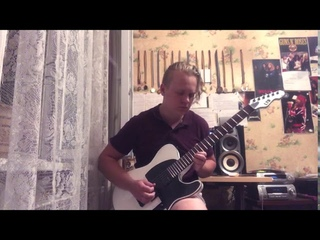 Led Zeppelin - Stairway To Heaven guitar solo cover