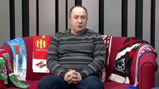 Евгений Ерахтин в гостях у Анзора Сабанова, ведущего итоговой спортивной программы ТВ Абакан
