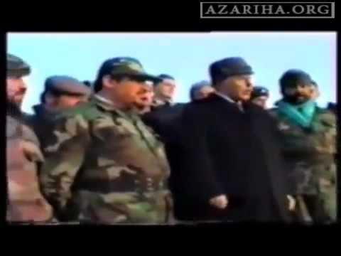 Qarabag doyusu 'BIZE' komeye gonderilmiw 'Iran generali Mensur Heqiqetpur