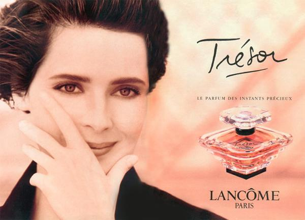 Изабелла Росселлини в рекламе аромата Tresor