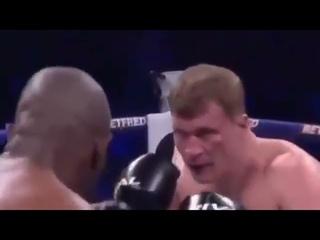 Dillian Whyte vs Alexander Povetkin 2 Full Fight Brutal KO
