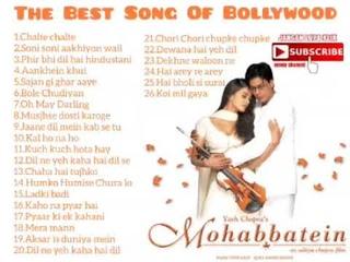 Lagu Lagu India Paling Populer Sepanjang Masa,The Best Of Song Bollywood Tahun 2000an