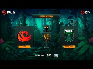 Hokori vs NoPing e-sports, OGA DPC SA Season 2, bo3, game 1 [Inmate & JAM]