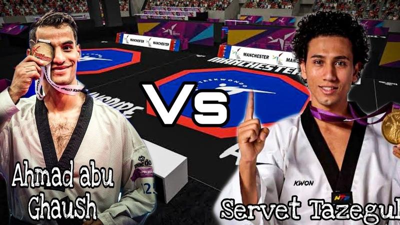 Ahmad Abu Ghaush(JOR) vs Servet Tazegul(TUR)    -68 KG    Best players    Taekwondo Highlights