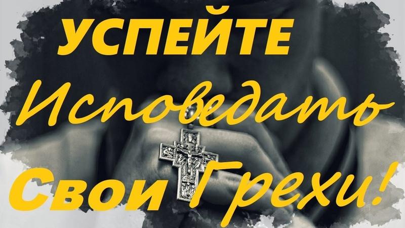 В КАКИХ Грехах НАДО Покаяться в Первую Очередь Как Правильно Каяться Из Наставлений Святых Отцов
