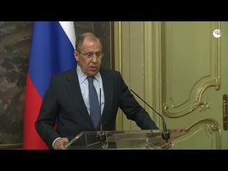 """Лавров: """"Попросим привести численность дипломатов США в соответствии с нашим"""""""