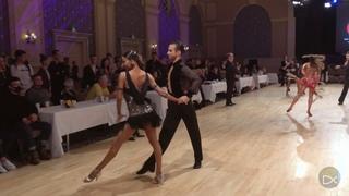 Alexander Chernositov and Arina Grishanina (USA) - Disney 2018 - Amateur Latin   R1 Chacha