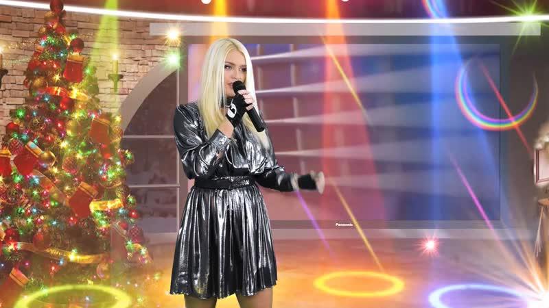 Два дня до Нового года и я поздравила зрителей Европа плюс TV в программе Поговорим ТВ Европа плюс ТВ