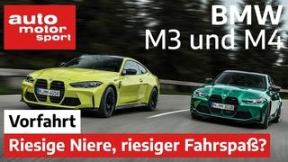 BMW M3 & M4 (2021): Ist die neue Generation wirklich besser? – Fahrbericht/Review   auto motor sport