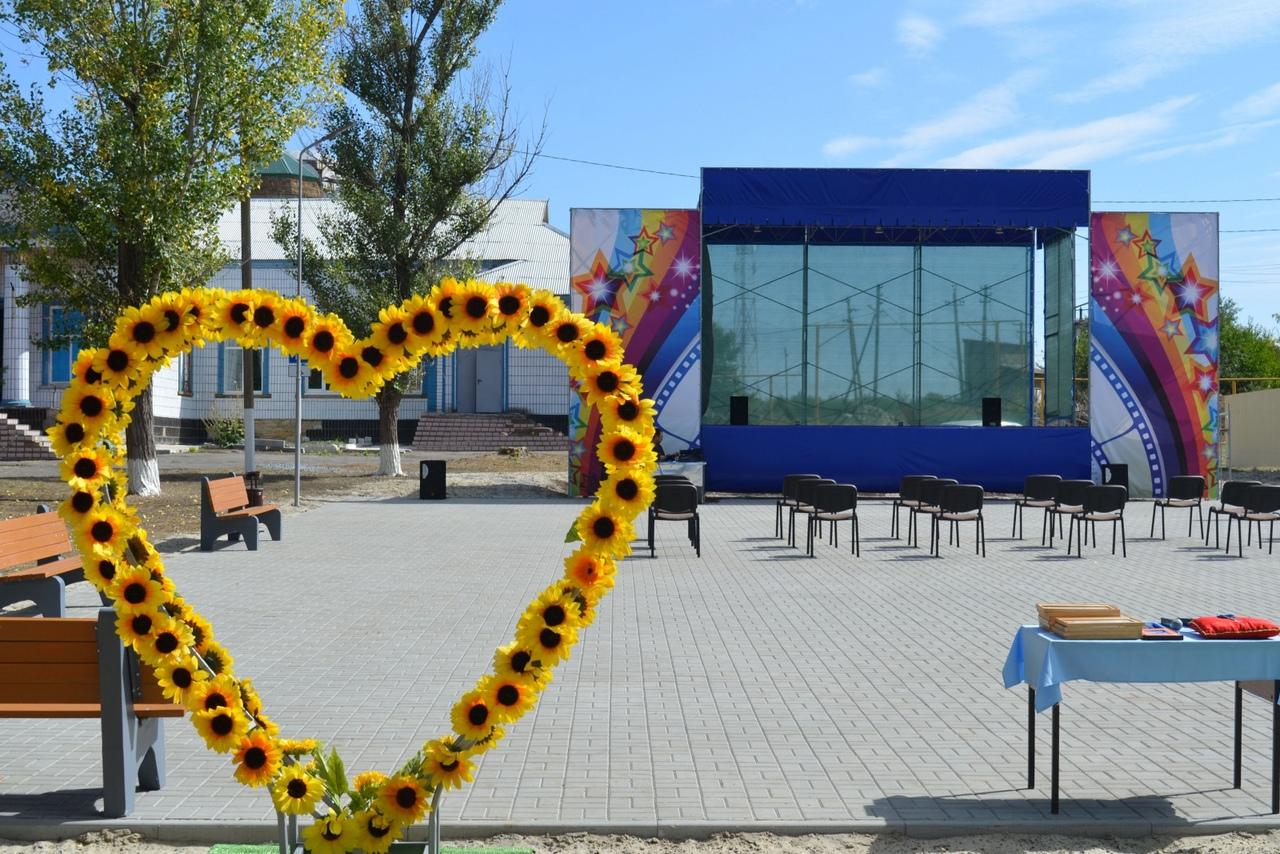 Губернаторский проект «Сделаем вместе!»: Недалеко от Таганрога появилось новое общественное пространство
