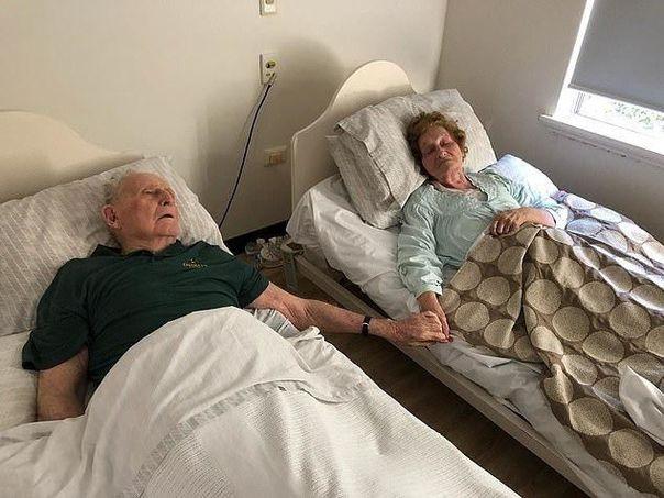 Любовь длиною в жизнь. Семейная пара прожившие вместе 70 лет умерли в один день