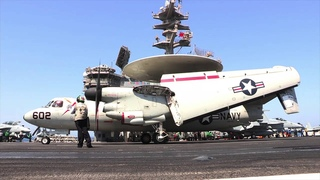 USS GEORGE H.W. BUSH CVN 77 Flight Deck Operations