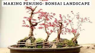 Making Penjing - Bonsai Landscape