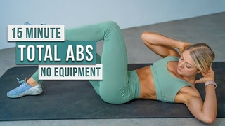 Day 13 - 15 MIN Strong ABS WORKOUT - Core Strength, No Equipment, No Repeat